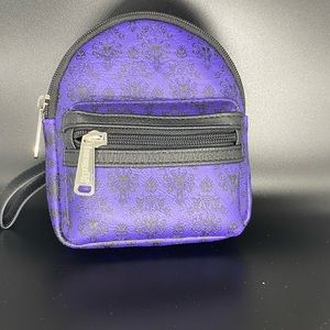 Loungefly Haunted Mansion Mini Backpack Wrislet